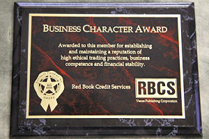 Business Character Award (Red Book)