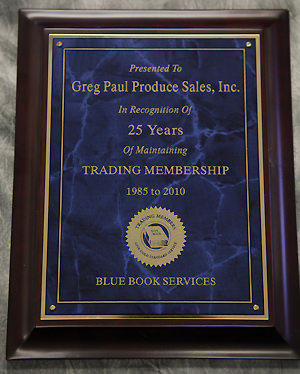 Trading Membership - 25 years (Blue Book)